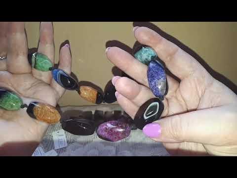 Великолепные бусы из натуральных камней. Лечебный янтарь.