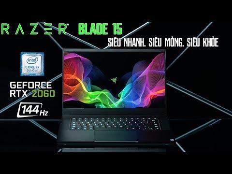 Đánh Giá Chất Lượng Laptop  Razer Blade 15 2019 Mới Ra Mắt