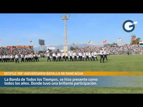 Desfile 198º Aniversario de la Batalla de Rancagua