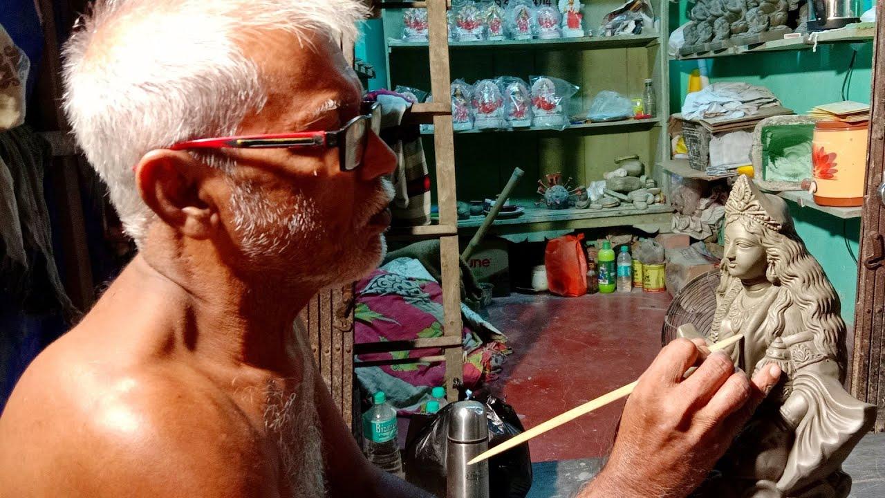 Kumartuli Lakshmi Idol Making 2021 | Lakshmi Idol Making at Kolkata Kumartuli 2021 | Lakshmi Idol