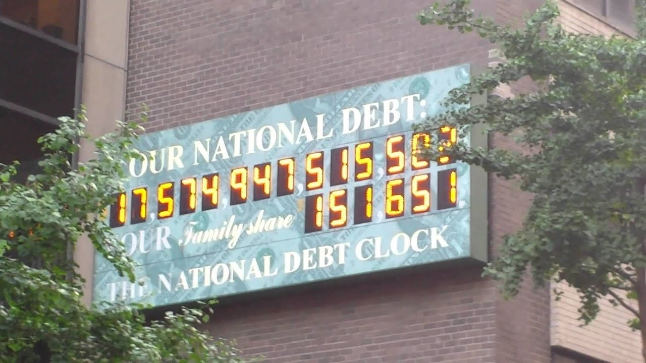 united states debt calculator