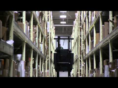 GE Aviation's Erlanger Parts Warehouse: A Study in Efficiency