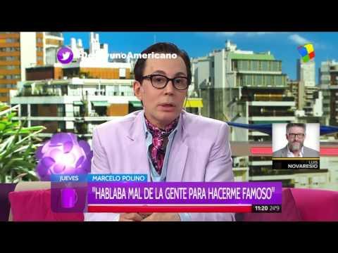 Marcelo Polino: Soy más malo que las arañas