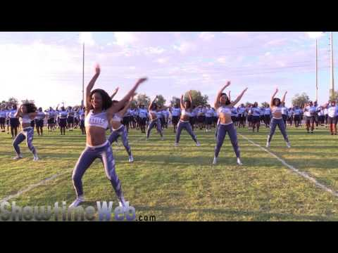 2016 Jackson State University Marching Band and Prancing J-Settes in Las Vegas