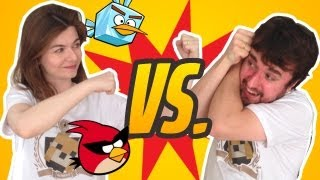 Nilce vs. Leon - Angry Birds Space (Round 1)
