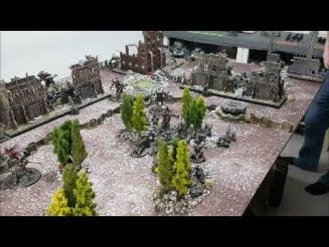 Dark Angels Vs Adeptus Mechanicus; 8th Edition Warhammer 40k Battle Report