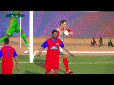 PS4 PES 2017 Gameplay ZESCO United vs Supersport United HD