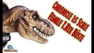 Chronicle / Maßstab 1:5 /Jurassic Park / Female T. Rex Bust / Büste - Review #285 (german)
