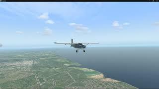 Pilatus PC-6 Porter Maiden-Flight -- Tocumen Int. (MPTO) - Panama Pacifico (MPPA) -- X-Plane 11.50