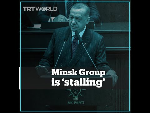 Erdogan calls out Minsk Group members for stalling