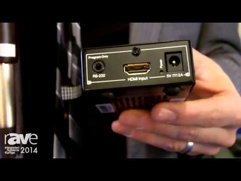 ISE 2014: Key Digital Details KD-HDDA1X1Pro HDMI Extender, Booster and Buffer with EDID Control