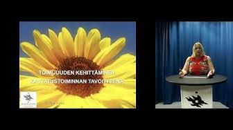 Toimijuus Kirsi Kallio k2018