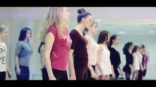 Уроки хореографии. Школа моделей Viva Models. Киев.