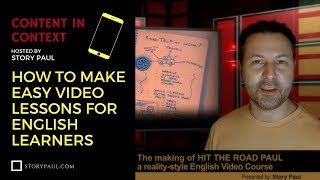 Make Easy Video Lessons for English Learners