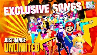 Just Dance Unlimited | Just Dance 2018 Exclusive Song List! |
