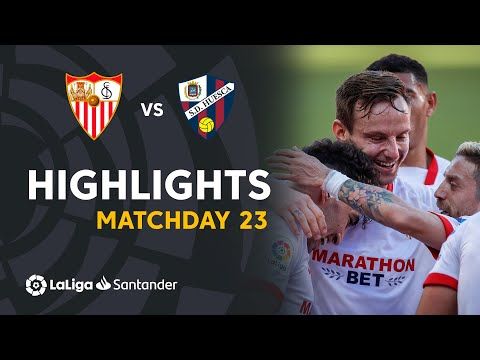 Highlights Sevilla FC vs SD Huesca (1-0)