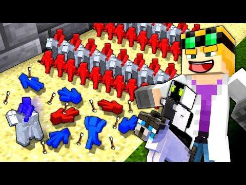 Minecraft: CLAY SOLDIERS BATTLE ARENA
