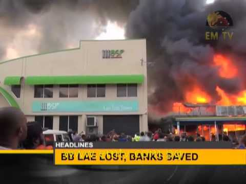 #EMTV National News Headlines Thurs, 21 May 2015