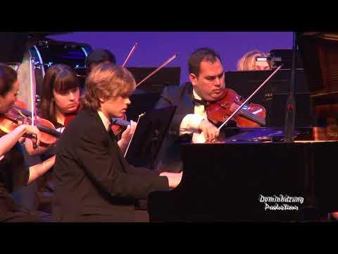 Andrew Edwards, soloist -  Piano Concerto No  2 in C minor Sergei Rachmaninoff