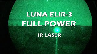 LUNA OPTICS ELIR-3 IR Laser for Night Vision