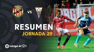 Resumen de Nàstic vs Albacete BP (1-0)