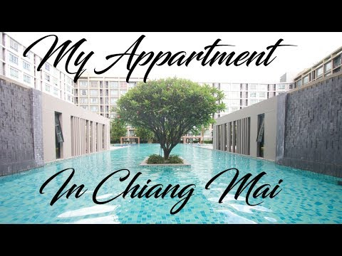 My Cheap $250 Apartment in Chiang Mai Thailand