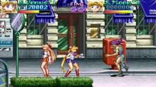 【电玩堂】小驴解说《街机版美少女战士》娱乐通关第一期