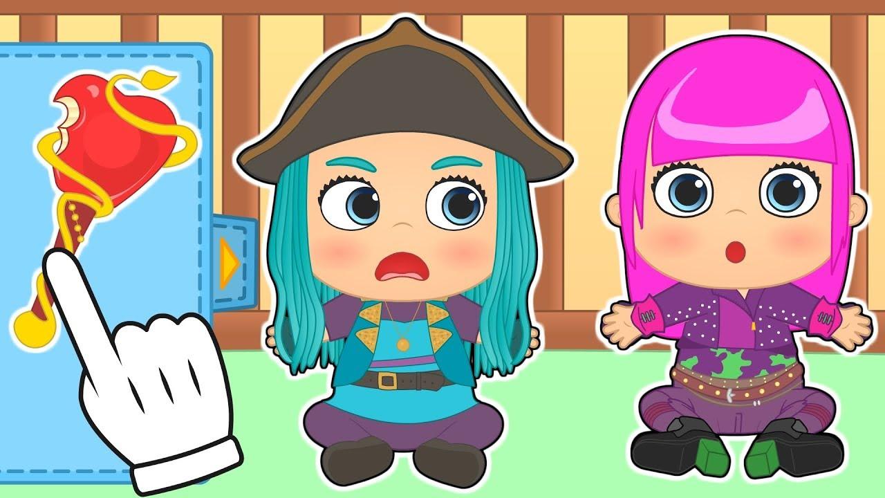 Dibujos De Descendientes 2 Para Colorear Dibujos Para