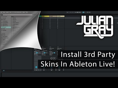 How To Install Skins For Ableton Live (& My Favorite Skin)