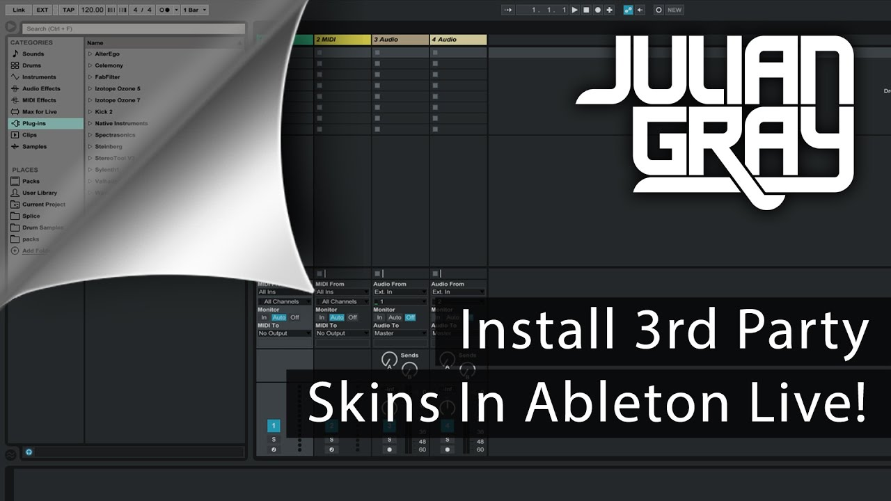 How To Install Skins For Ableton Live Amp My Favorite Skin