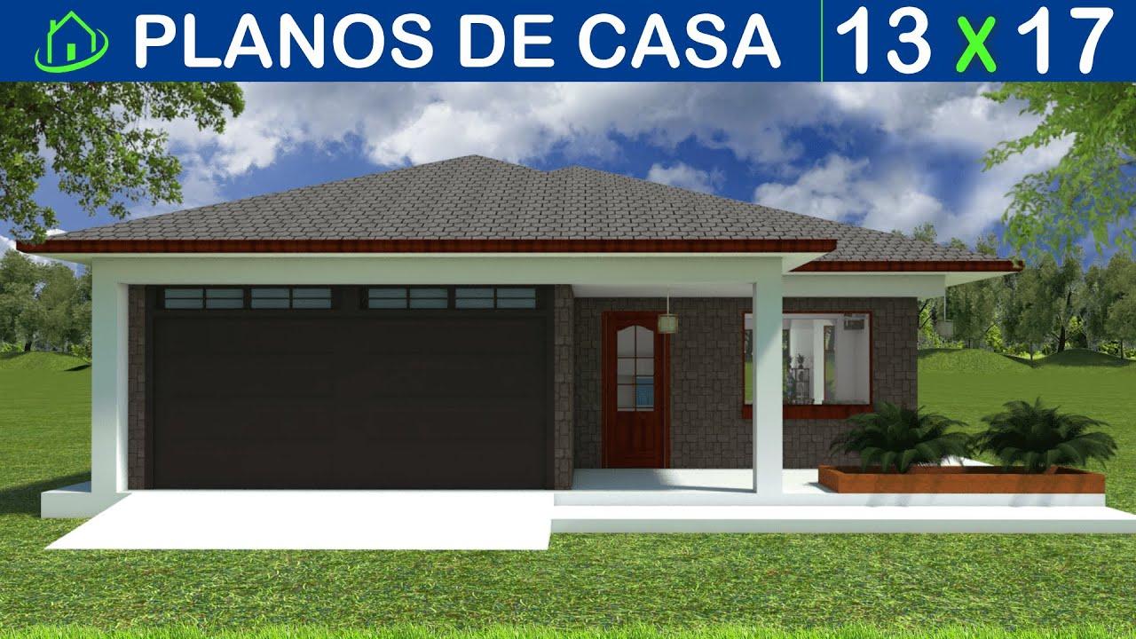 Dise os y planos de casa sencilla 1 piso proyecto csip k2 for Diseno de casa sencilla