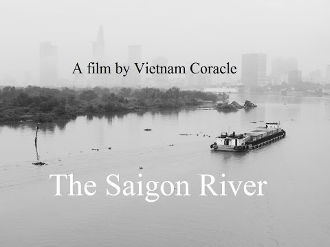 The Saigon River, Vietnam