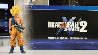 Xenoverse 2 Collector's Edition Unboxing!  13 INCH SS GOKU STATUE!