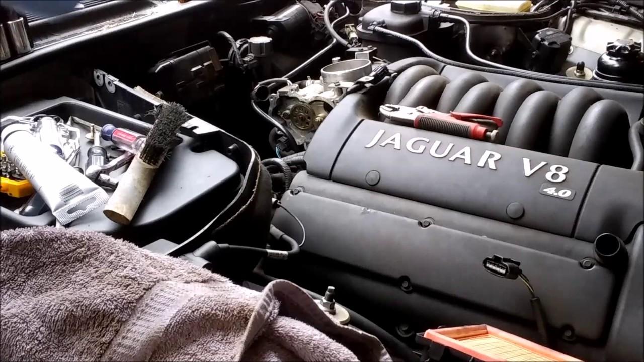 Jaguar Throttle Body Repair Youtube 2005 Xj8l Problems
