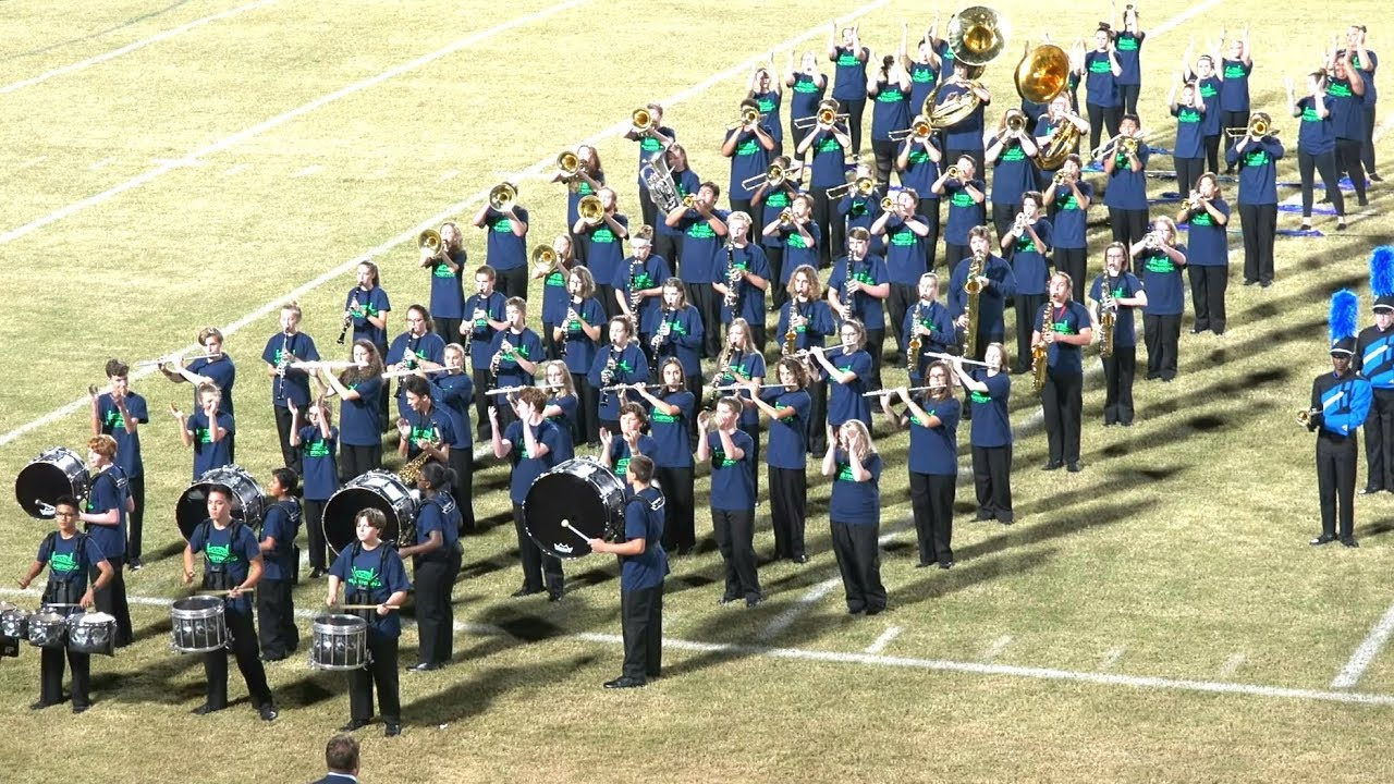 #ILMSTRONG Ashley High School Marching Band @ 2018 NHCS Marching Band  Showcase, + All 4 Fight Songs