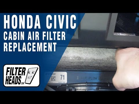 How to Replace Cabin Air Filter 2017 Honda Civic