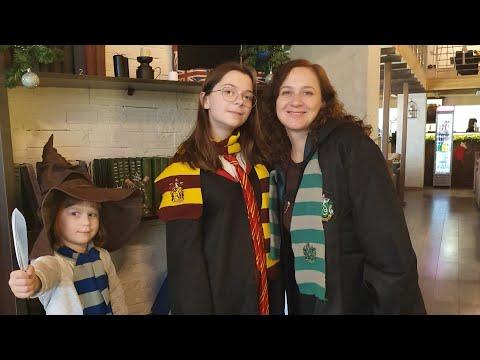 ВЛОГ: ДЕНЬ РОЖДЕНИЯ НИНЫ! Кафе Гарри Поттер и Квест!