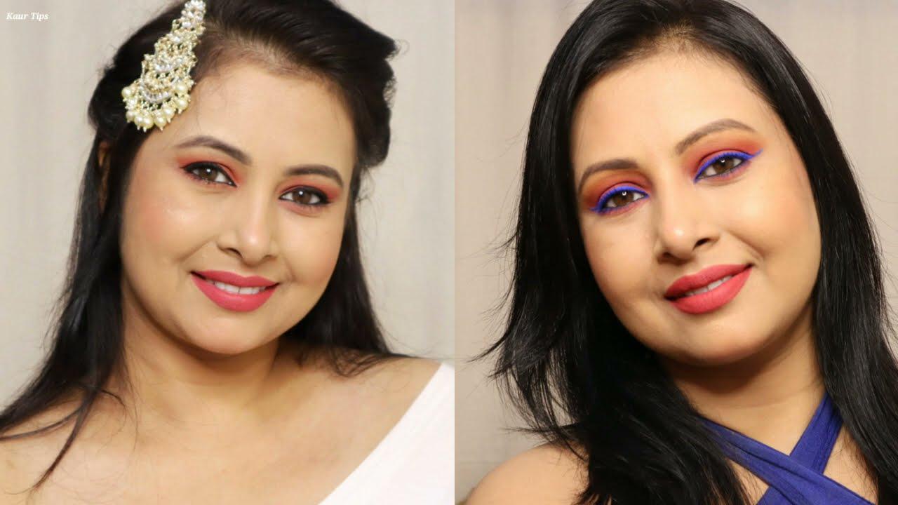 Summer Fresh makeup tutorial | गर्मियों का मेकअप ऐसे करें| Easy & Simple Step Makeup | Kaur Tips