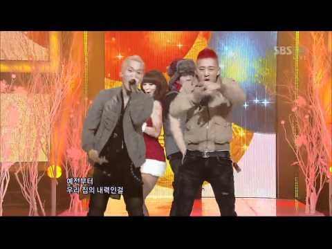 Hyorin&Electroboyz - Ma Boy 2 (효린&일렉트로보이즈) @SBS Inkigayo 인기가요 20121125