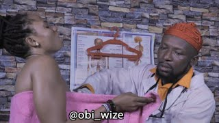 doctor my breast milk is coming out, and am not pregnant.(ob wise comedy)