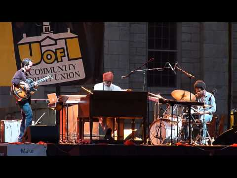 Dr. Lonnie Smith Trio at the 2013 Iowa City Jazz Festival