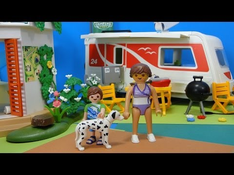 Summer 5434 Caravan Caravane Fun Youtube Playmobil Camping wiTkZuOPX