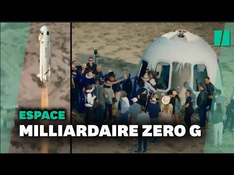 Download La vidéo du décollage de Jeff Bezos à bord de Blue Origin