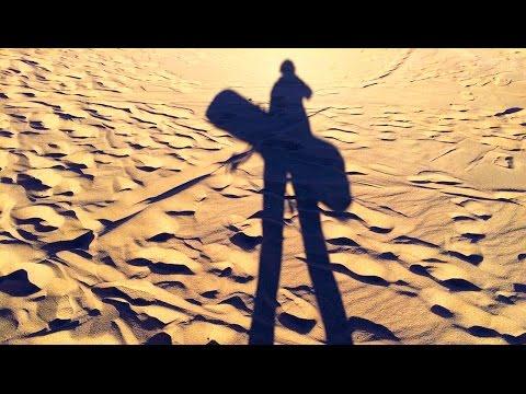 Sandboarding in Death Valley of Atacama Desert, Chile