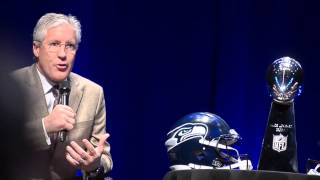 Pete Carroll on coaching