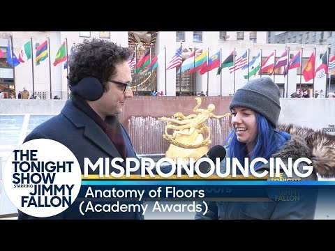 Mispronouncing The Anatomy of Floors (The Academy Awards)