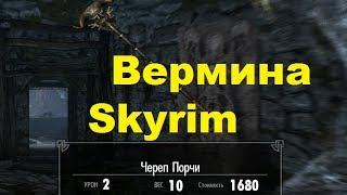 Skyrim против Oblivion - Даэдрический лорд - Вермина (Skyrim)