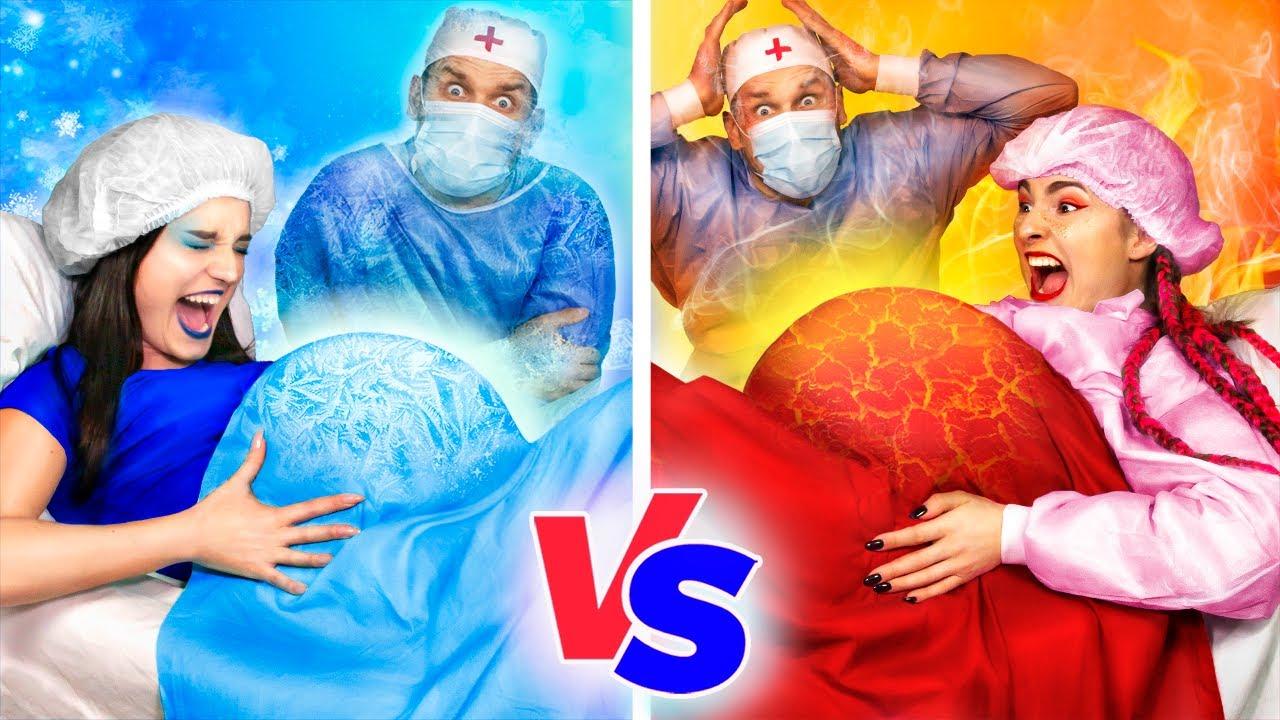 Download Embarazada Caliente vs Embarazada Fría! Situaciones Divertidas de Embarazo