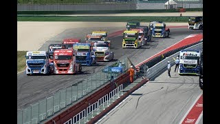Reviewing the 4 truck races of FIA ETRC 2018 Round 1 Misano