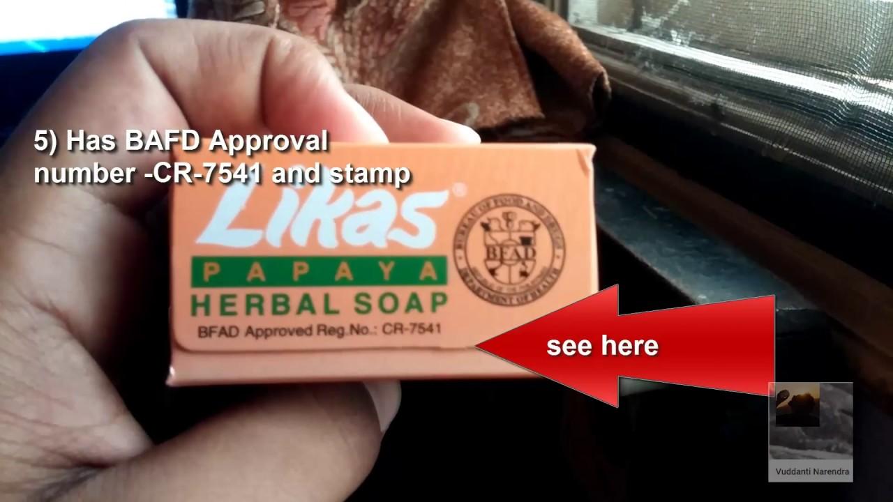How to spot fake likas papaya soap